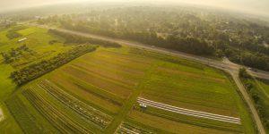Air view of the Sourth Farm