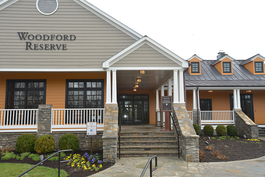 woodford reserve welcome building during the day