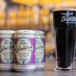 braxton brewing company: graeter's black raspberry chocolate chip milk stout