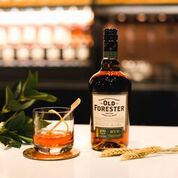 new old forester rye bourbon and a cocktail