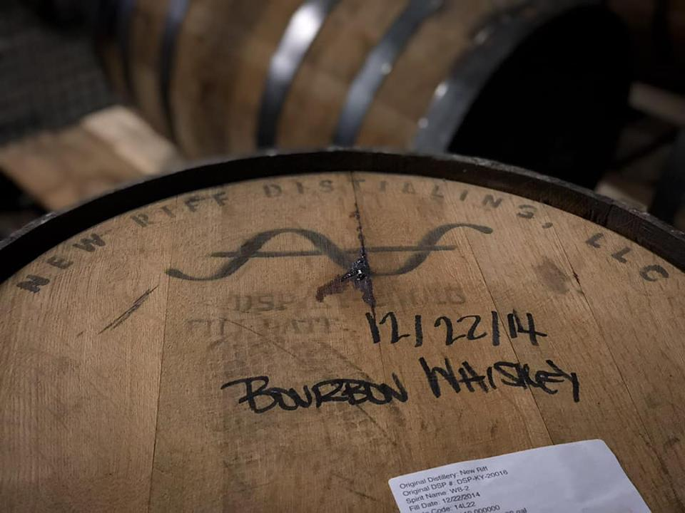 a new riff distilling barrel