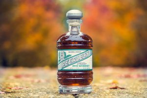 craft producer: bottle of peerless on a street
