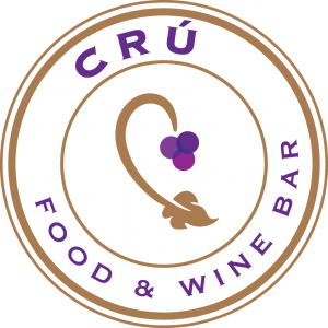 Women's History Month: cru food and wine bar logo