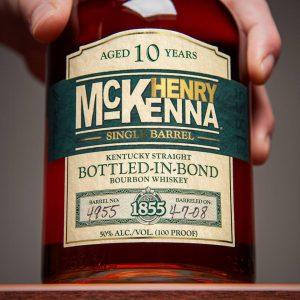 Spirits Competition: a bottle of Henry McKenna bourbon
