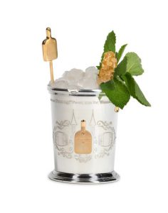 Woodford Reserve silver mint julep cup