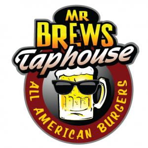 Craft Beer: logo for mr brews taphouse
