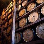 Woodford Reserve: barrels in a rack house