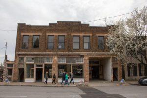 Goodwood Brewing: a historic brick building